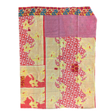 Indian Handmade Cotton Vintage Kantha Quilt Bedspread Throw- Poorna