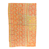 Indian Handmade Cotton Vintage Kantha Quilt Throw- Rashi
