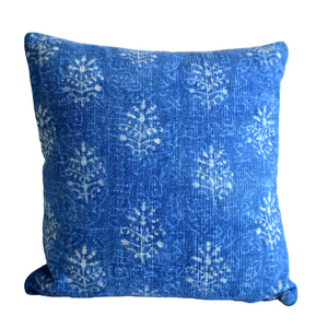 Block Print Heavy Cotton Dari Cushion Cover 65x65cm- IB65-3