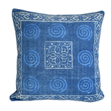 Block Print Heavy Cotton Dari Cushion Cover 65x65cm- IB65-4