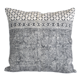 Hand Made Geometrical Block Print Cotton Dari Cushion Cover 65cm