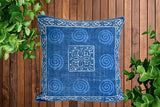 Block Print Heavy Cotton Dari Cushion Cover 60x60cm