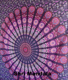 Harmony Pink Purple Mandala Throw