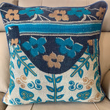 Indian Handmade Vintage Kantha Cotton Cushion Cover 50cm -122
