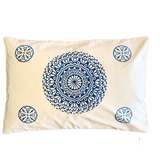 Blue Mandala Pillow