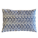 Ikat Indigo Pillow