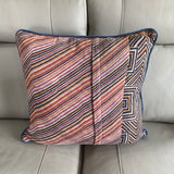Indian Handmade Vintage Kantha Cotton Cushion Cover 50cm -115