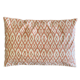 Peach Ikat Pillow