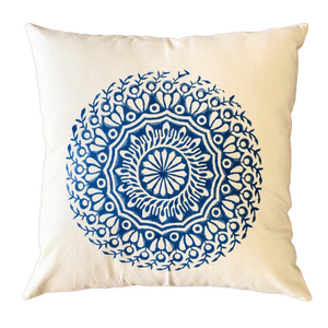 Blue Mandala Cushion