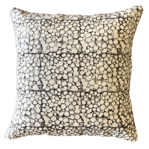 French Block Print Cotton Dari Cushion Cover 45cm HBS-11
