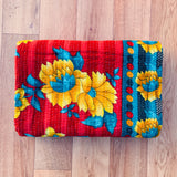 Indian Handmade Cotton Vintage Kantha Quilt Bedspread Throw- Aarti