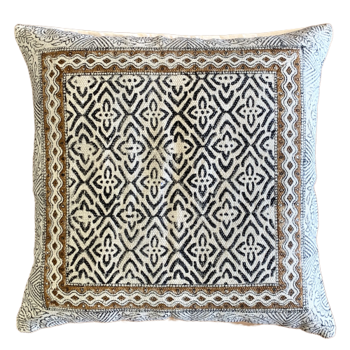 Wave Cotton Cushion Cover