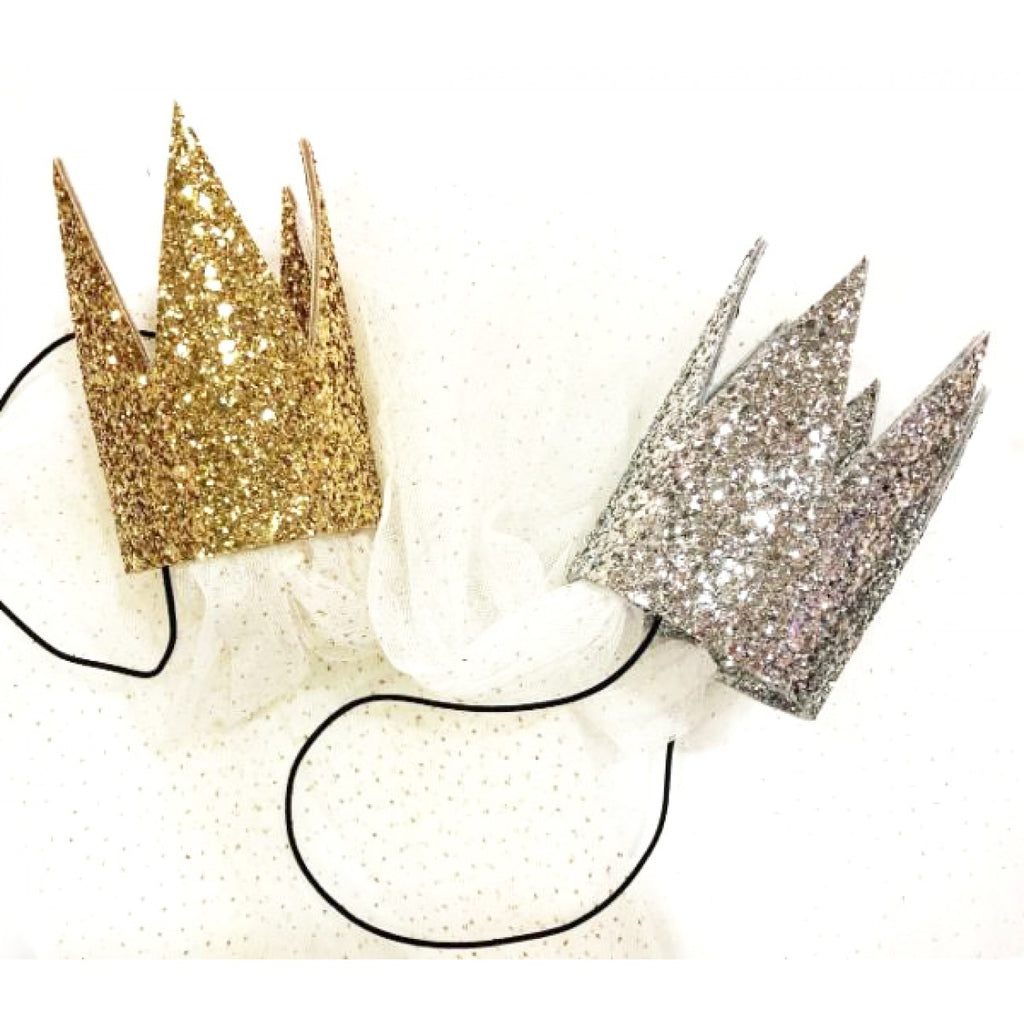 Glitter Crown with tutu