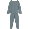Mini a true Merino wool PJ-blue