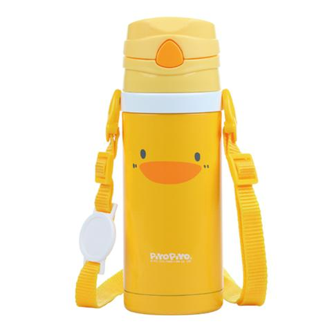 PIYOPIYO PUSH & SIP WATER BOTTLE - LittleLeafBaby