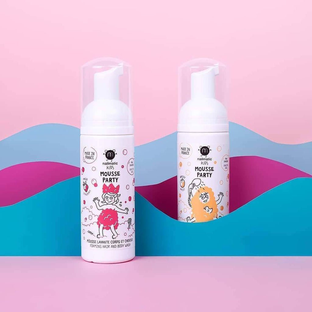 Nailmatic- Mousse party -Hair & Body Foam - LittleLeafBaby