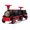 Locomotive with Carriage 12V Electric Motorized Ride-On Train for Kids and Parents