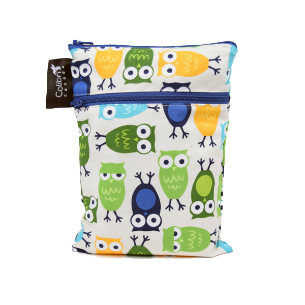 Mini Double Duty Wet Bag - LittleLeafBaby