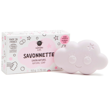Nailmatic- Organic kids cloud-shaped soap - LittleLeafBaby