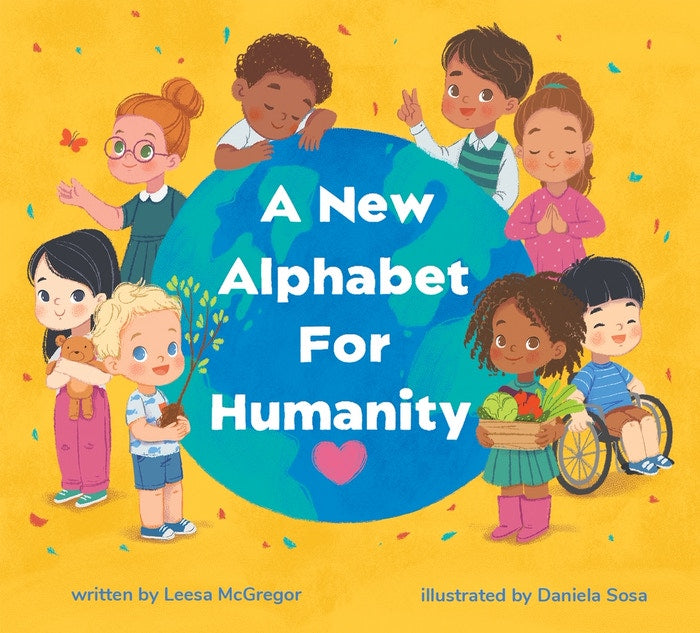 A new alphabet for humanity book