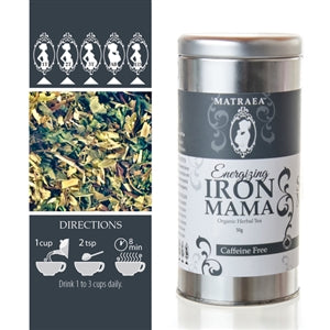 Organic Herbal Iron Boosting Tea by Matraea