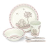 Jelly Cat Bamboo tableware Set - LittleLeafBaby