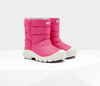 Hunter Original Little Kids Insulated Snow Boots: pink