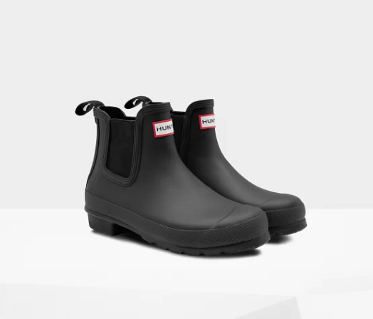 Women's Original Chelsea Boots: Black - LittleLeafBaby