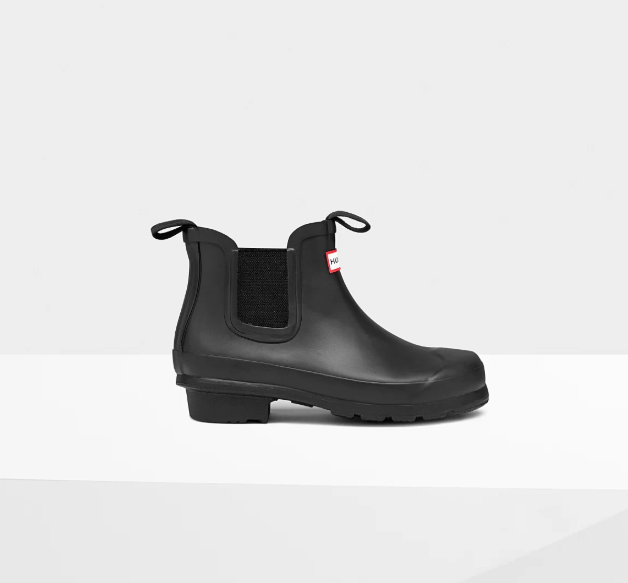 Original Big Kids Chelsea Boots: Black - LittleLeafBaby