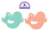 SUGARBOOGER Silicone Teether Set of 2