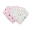 Loulou Lollipop Muslin Bib Set - LittleLeafBaby