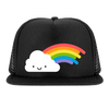 WHISTLE & FLUTE Trucker Cap KAWAII RAINBOW - LittleLeafBaby
