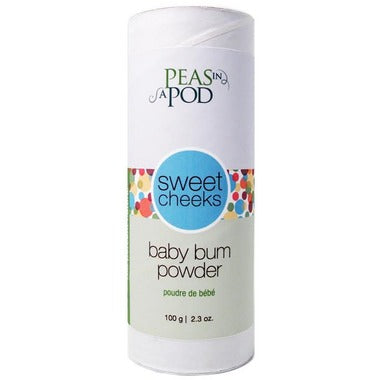 Peas In A Pod Sweet Cheeks Baby Bum Powder - LittleLeafBaby