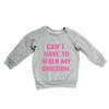THE CAN'T. HAVE TO WALK MY UNICORN. RAGLAN - LittleLeafBaby