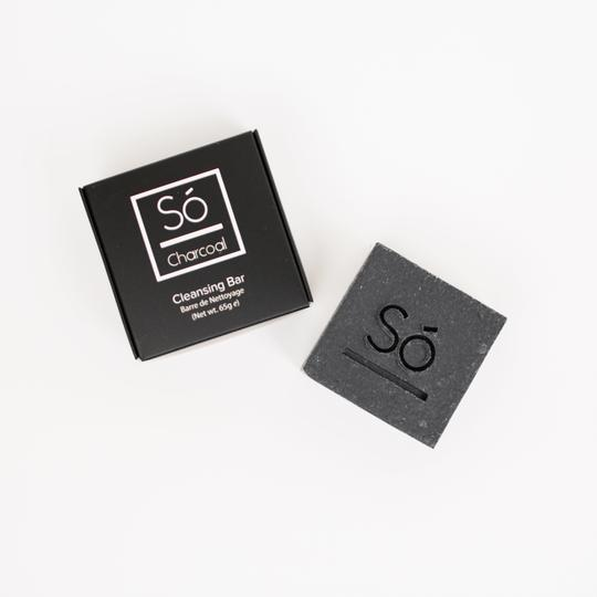 Só Luxury Cleansing Bar - Charcoal - LittleLeafBaby