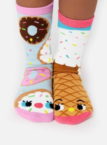 Buckets of Fun PALS Donut and Ice Cream socks