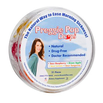 Preggie Pop Drops - Container
