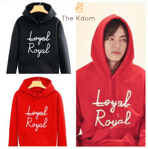 "BTS V ""Royal"" Sweatshirt"