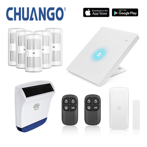 Chuango AW1 Plus 'Deluxe 260' WiFi Home Security Alarm