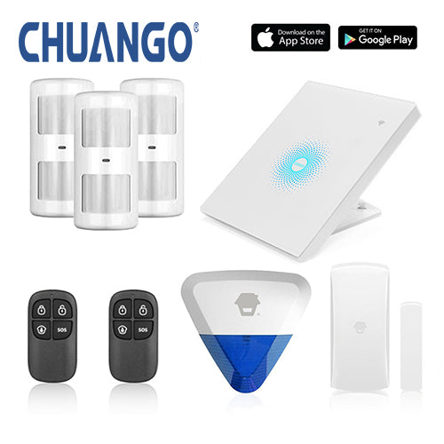 Chuango AW1 Plus 'Premium 280' WiFi Home Security Alarm