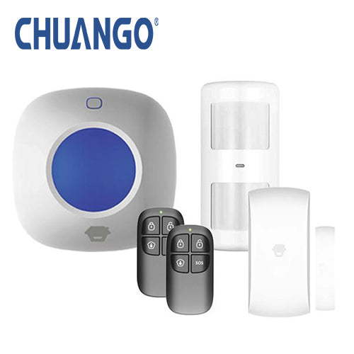 Chuango 'Starter '105' Wireless DIY Home Security Alarm