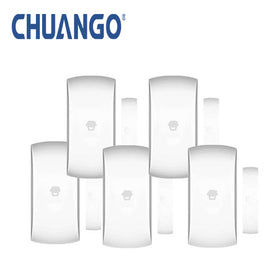 Chuango Wireless Door/Window Sensors Five Pack (Reed Switches)