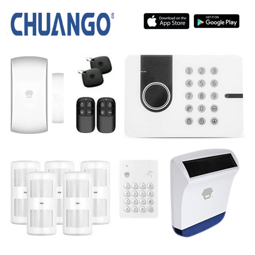 Chuango G5W (3g) 'Deluxe 260' Wireless DIY Home Security Alarm