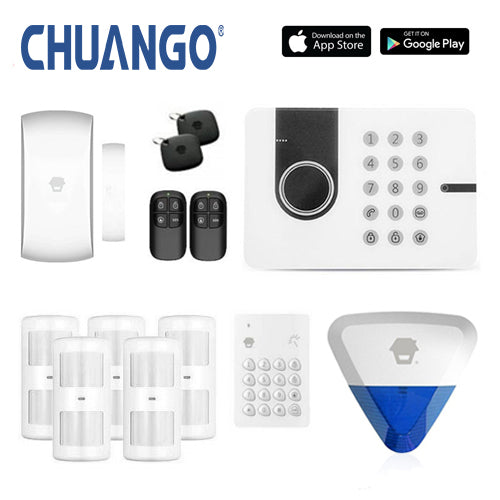 Chuango G5W (3g) 'Deluxe 280' Wireless DIY Home Security Alarm