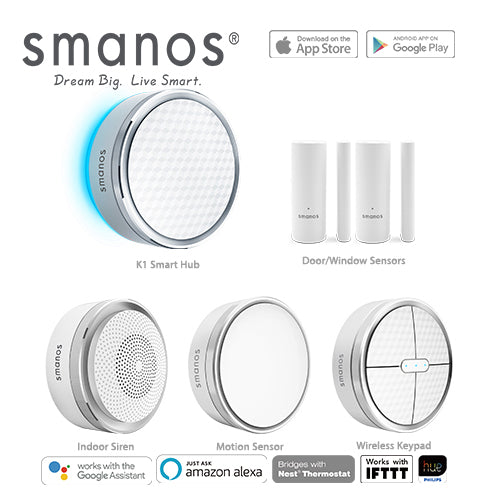 Smanos K1 Smart Home DIY Security Alarm Kit