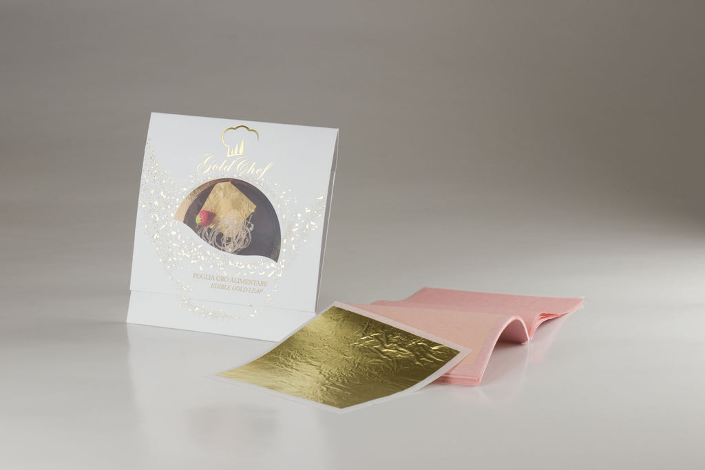 Manetti Edible Gold Leaf - 25 Sheets