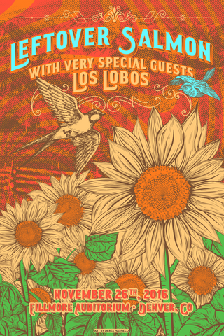 Limited Edition 2016 Thanksgiving Poster - The Filmore