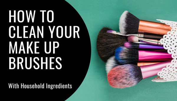 How To Clean Your Makeup Brushes With House Hold Ingredients