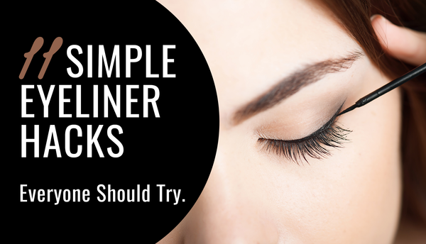 11 Simple Eyeliner Hacks - Everyone Should Try!