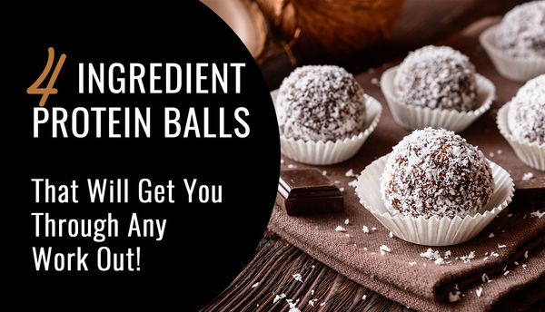 4 Ingredient Protien Balls - Energy Boosters!